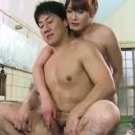 混浴温泉で出会った美女は男の娘